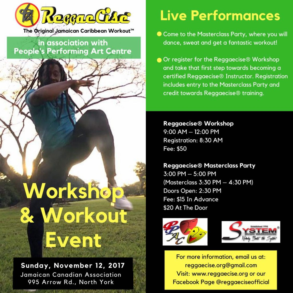 Reggaecise Workshop