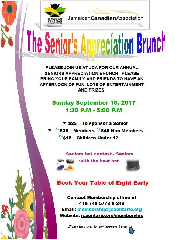 Seniors Brunch flyer 2017