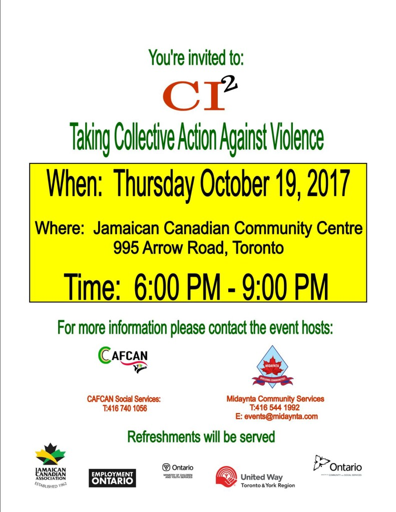 CI Squared - Taking Collective Action Against Violence
