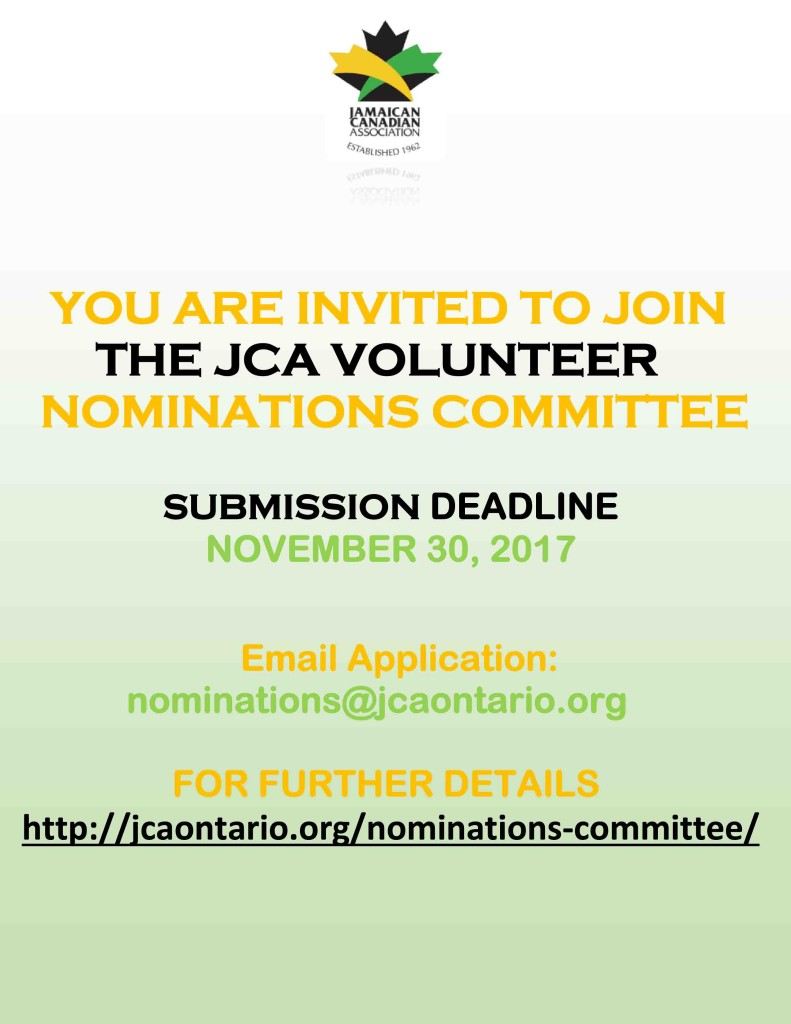 2017 JCA Nomination Recruitment