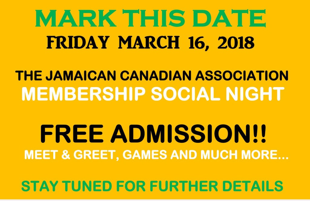 Mark This Date - Friday March 16, 2018